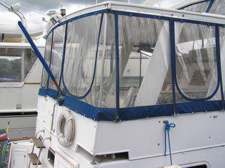 Marine Trader Yachtfish model 44 foot cockpit motor yacht trawler 1989 Trawler Boats for Sale