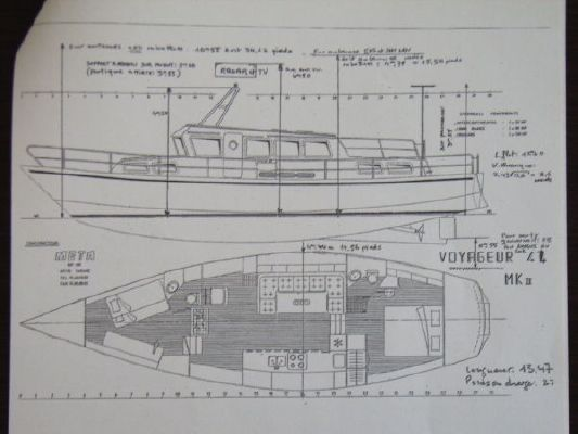 1989 Meta Trawler Voyager 44 Transatlantic - Boats Yachts for sale
