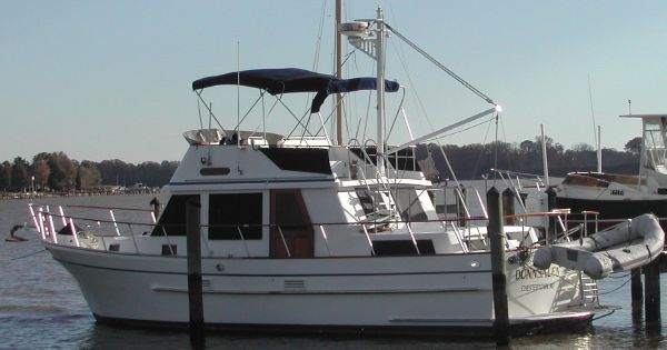 Monk 42 Trawler 1989 Trawler Boats for Sale