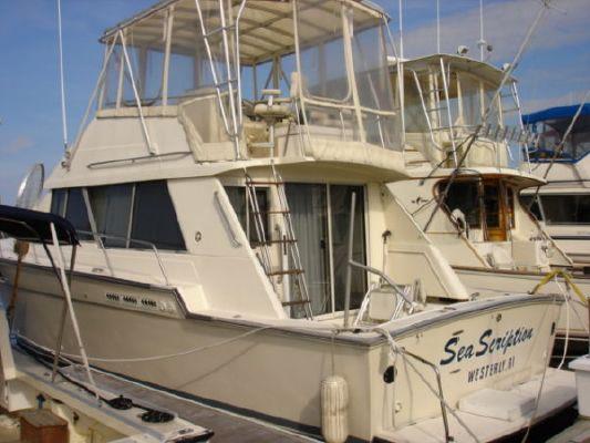 Silverton Sedan/Convertible 1989 All Boats Convertible Boats