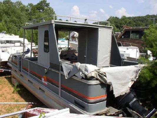 1989 Sun Tracker Party Hut Boats Yachts For Sale