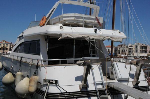 Tecnomarine SPA Motor Yacht with Fly Bridge 1989 All Boats