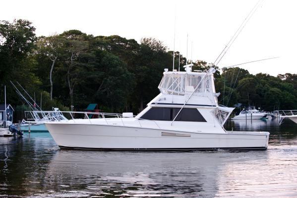 Viking 48' Convertible 1989 Motor Boats Viking Boats for Sale
