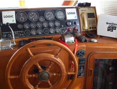 ANGEL MARINE 45 Aft deck 1990 All Boats