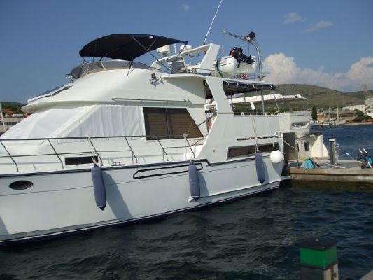 1990 angel marine aft cabin motoryacht boats yachts for sale for Angel boats and motors