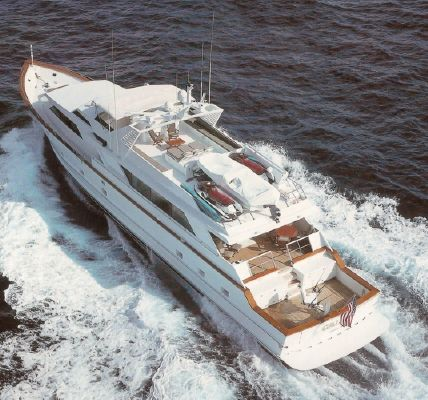 Broward Cockpit Motor Yacht 1990 All Boats