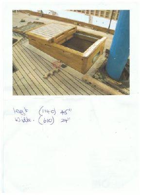 Boats for Sale & Yachts Classic Yacht teak skylight/entrance hatch 1990 All Boats