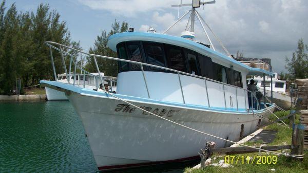 1990 defender commercial fishing vessel boats boats for Commercial fishing boats for sale by owner