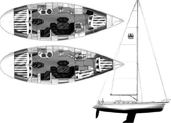 Dufour 45 Classic 1990 All Boats