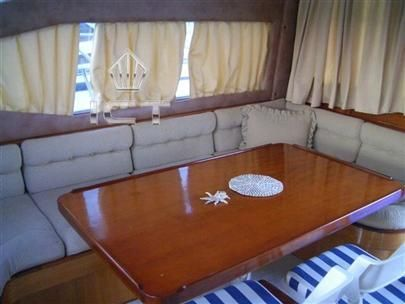 1990 tuzla motoryacht flybridge  4 1990 TUZLA MOTORYACHT Flybridge