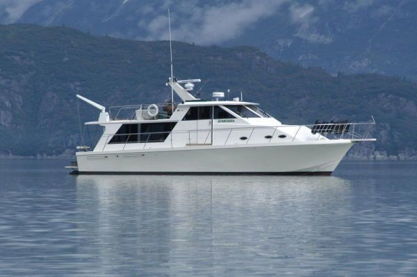 Canoe Cove Pilothouse Motor Yacht 1991 46' Pilothouse Boats for Sale