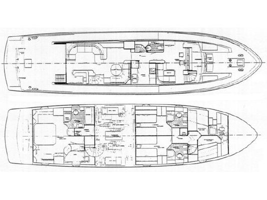 Boats for Sale & Yachts Hakvoort 2505 1991 All Boats