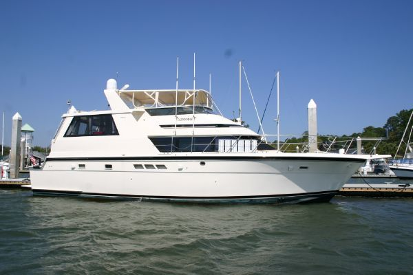 Hatteras 52 Cockpit Motor Yacht 1991 Hatteras Boats for Sale