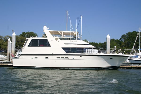 1991 hatteras 52 cockpit motor yacht boats yachts for sale