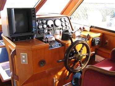 Nova 44 Galaxy Flybridge Motor Launch 1991 Flybridge Boats for Sale
