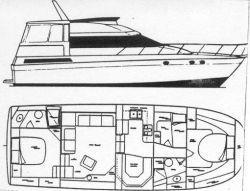 1991 silverton motor yacht  3 1991 Silverton Motor Yacht