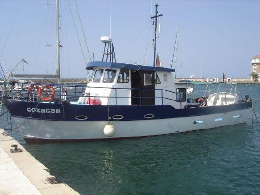 Steel Pilothouse Motor Cruiser 1992 49' Pilothouse Boats for Sale