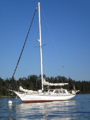 1992 bill garden design pilothouse cutter rig sailboat  1 1992 Bill Garden Design Pilothouse Cutter Rig Sailboat