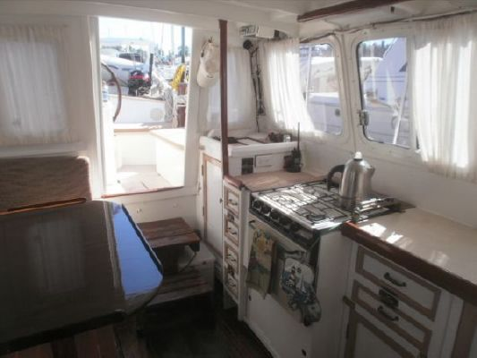 1992 bill garden design pilothouse cutter rig sailboat  16 1992 Bill Garden Design Pilothouse Cutter Rig Sailboat