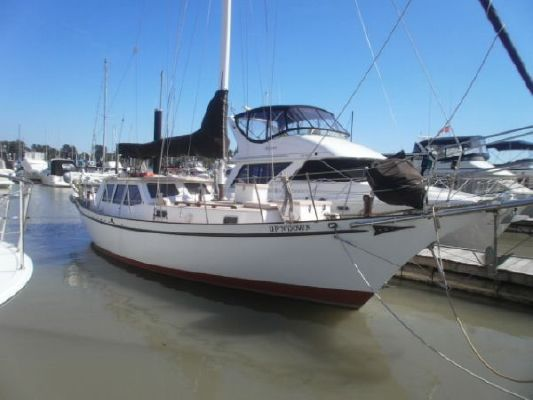 1992 bill garden design pilothouse cutter rig sailboat  2 1992 Bill Garden Design Pilothouse Cutter Rig Sailboat