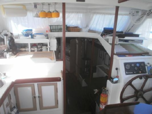 1992 bill garden design pilothouse cutter rig sailboat  22 1992 Bill Garden Design Pilothouse Cutter Rig Sailboat