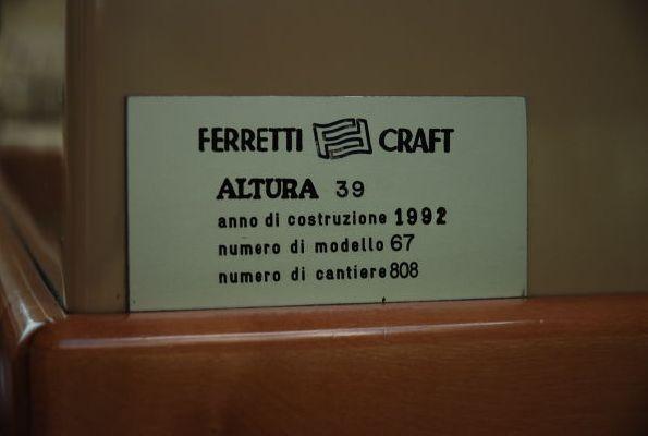Ferretti ALTURA 39 1992 All Boats