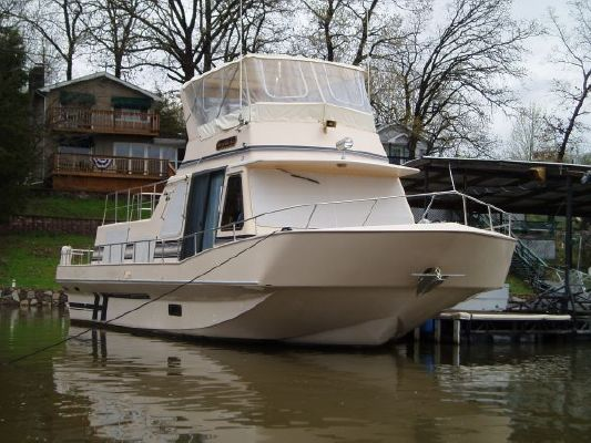 Holiday Mansion 450 Coastal widebody houseboat 1992 Houseboats for Sale