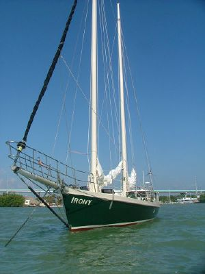 1992 parker marine exuma schooner  1 1992 PARKER MARINE Exuma Schooner