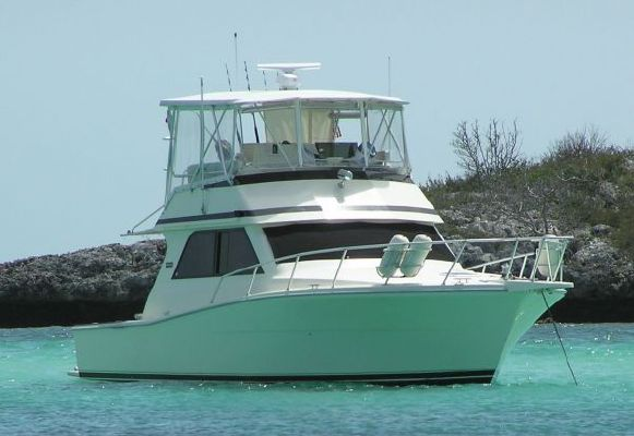 Viking 38 Convertible Plan A Inside Helm 1992 Viking Boats for Sale