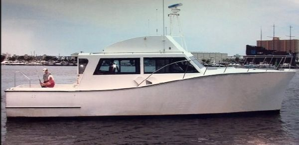 Wood/Nortex Fishing Charter Boat 1993 1993 45' All Boats