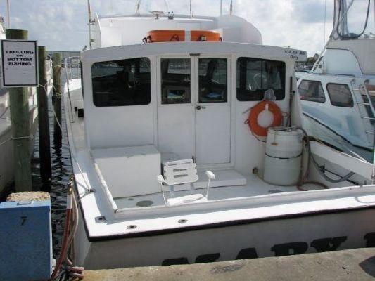 1993 1993 45 wood nortex fishing charter boat  2 1993 1993 45 Wood/Nortex Fishing Charter Boat