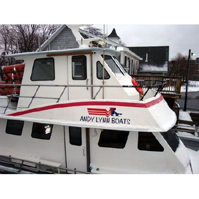 1993 arro yacht commercial head boat  20 1993 ARRO YACHT Commercial Head Boat