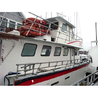 1993 arro yacht commercial head boat  5 1993 ARRO YACHT Commercial Head Boat