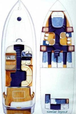 Boats for Sale & Yachts Fairline Squadron 47 1993 Motor Boats