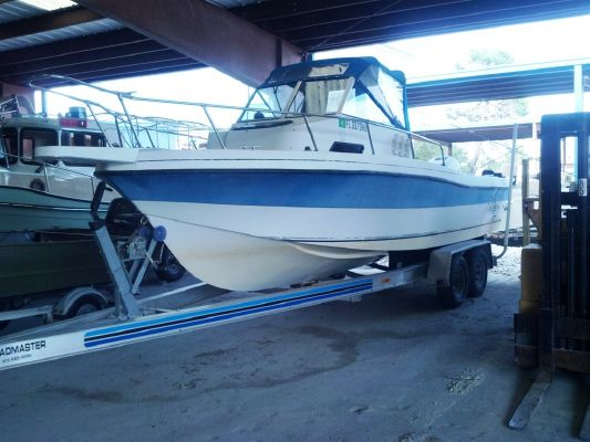 Boats for Sale & Yachts Invader 244 Walkaround 1993 All Boats Walkarounds Boats for Sale