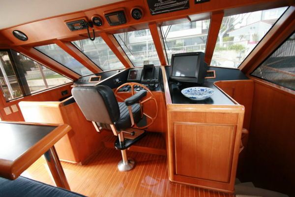 Sharp/DeFever Group Cockpit Motoryacht 1993 Trawler Boats for Sale
