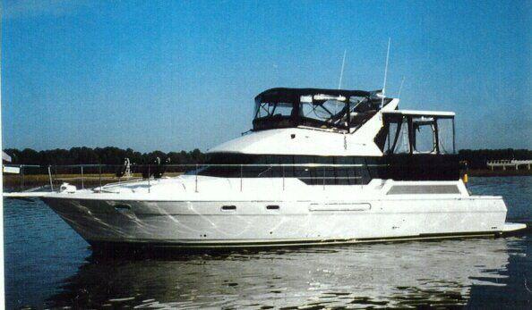 1994 bayliner 4587cockpit motoryacht  2 1994 Bayliner 4587COCKPIT MOTORYACHT