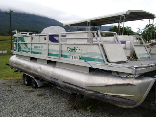 Crest Pontoons Crest III Caribbean 1994 Pontoon Boats for Sale