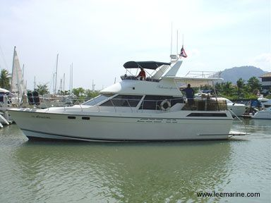 Far East, Taiwan Flybridge motor yacht 1994 Flybridge Boats for Sale