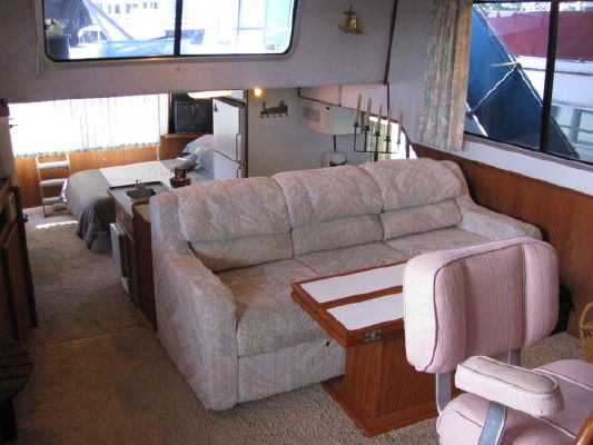 Boats for Sale & Yachts Harbor Master 46 Widebody 1994 Egg Harbor Boats for Sale
