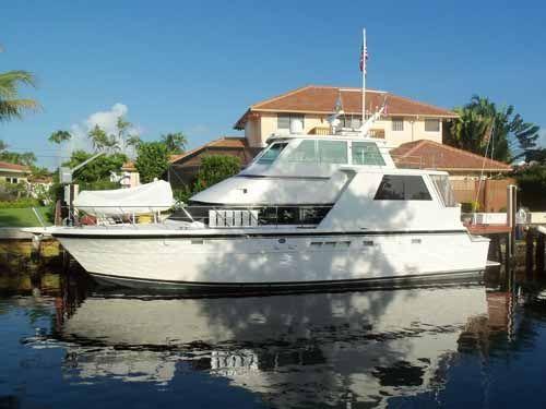 Hatteras Custom Enclosed FB 1994 Hatteras Boats for Sale