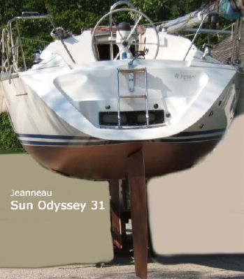1994 jeanneau sun odyssey 31  4 1994 Jeanneau Sun Odyssey 31