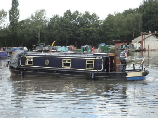 Narrow Boat Acorn Boat Builders Cruiser Stern 1994 All Boats