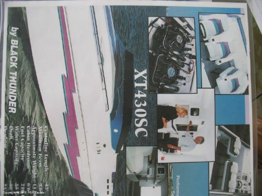 Boats for Sale & Yachts Black Thunder XT430 Sport Cruiser 1995 All Boats