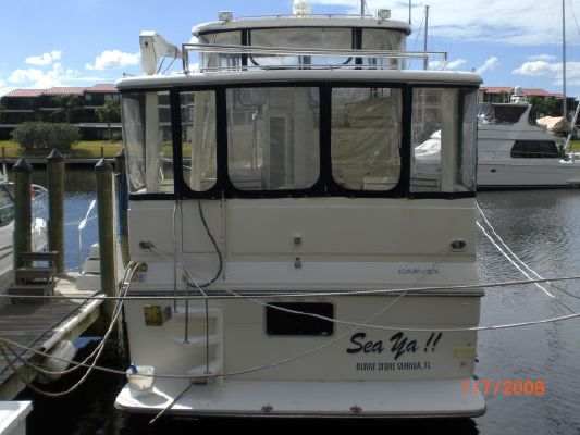 Carver 440 Washed weekly,$30,000 added Hard top! 1995 Carver Boats for Sale