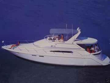 1995 chris craft 421 continental  1 1995 Chris Craft 421 Continental