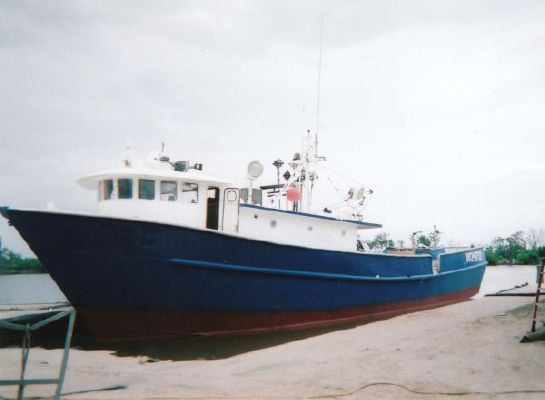 1995 custom steel tuna longline trawler fish cargo vessel for Tuna fishing boats for sale