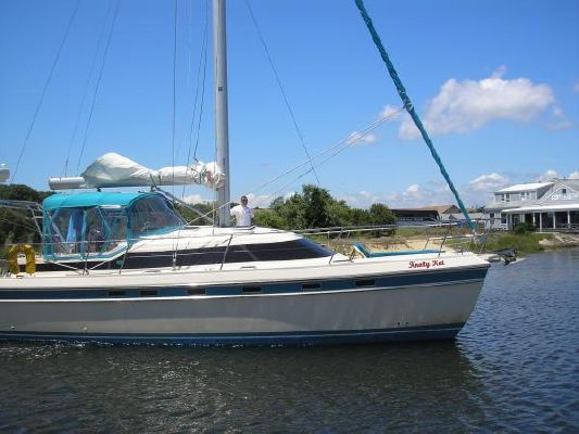Island Packet Packet Cat, currently cruising southward US east coast 1995 All Boats