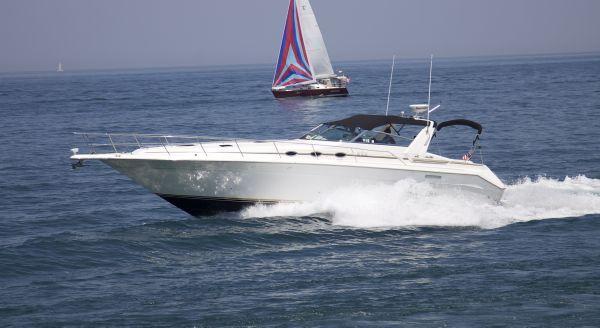 Sea Ray 440 Sundancer (MN#JB0187) 1995 Sea Ray Boats for Sale