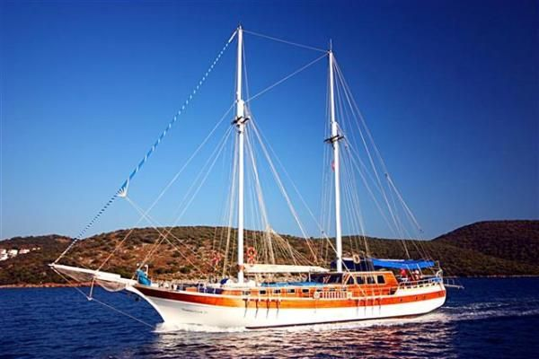 Bodrum Gulet Transom Type Gulet 1996 Ketch Boats for Sale